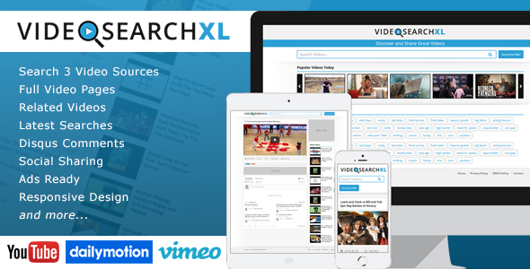 VideoSearchXL Script