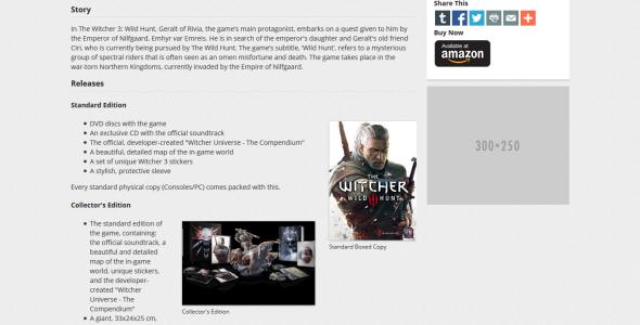 GameBase Gamepage