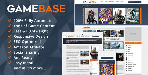 GameBase – Video Games Database Script
